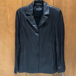 Jackets & Blazers - Couture by J. Park Genuine Leather coat